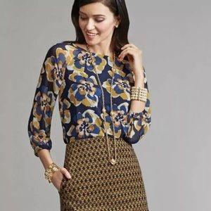 Cabi Lydia blouse.  3426.  Size M